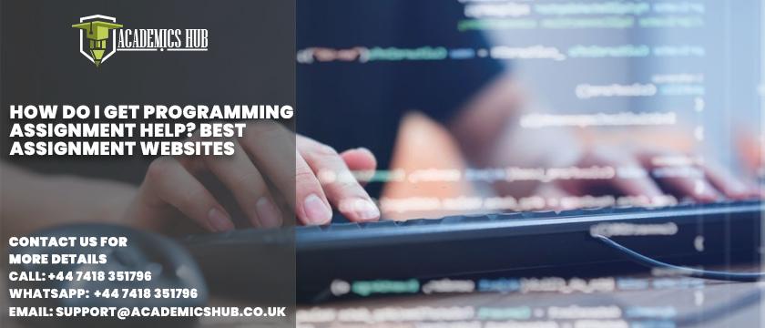 How Do I Get Programming Assignment Help Best Assignment Websites - Academics Hub