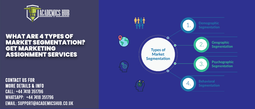 Academics Hub: What Are 4 Types of Market Segmentation? Get Marketing Assignment Services